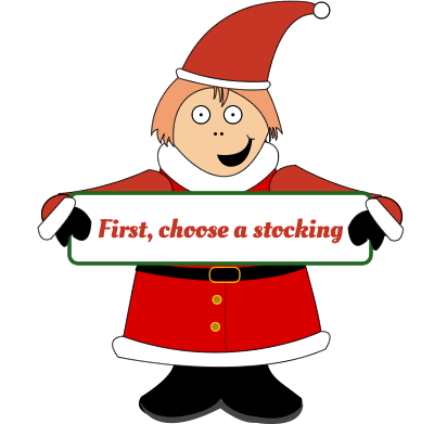 First, choose a stocking